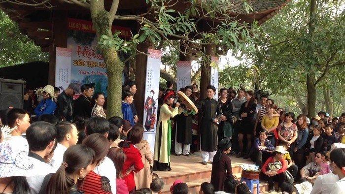 Đình thôn Viêm Xá - điểm sinh hoạt cộng đồng làng Diềm