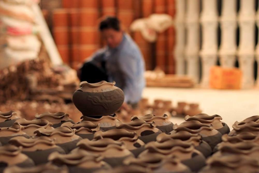 Sản phẩm chính của làng gốm Kim Lan chủ yếu phục vụ cho sinh hoạt trong cuộc sống hàng ngày.