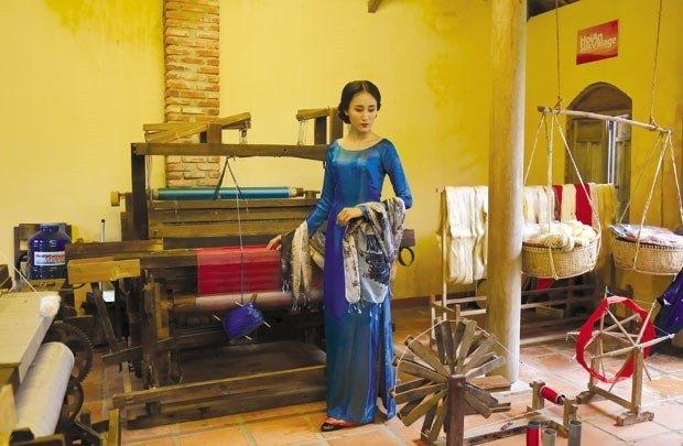 Những công cụ dệt vải cổ truyền