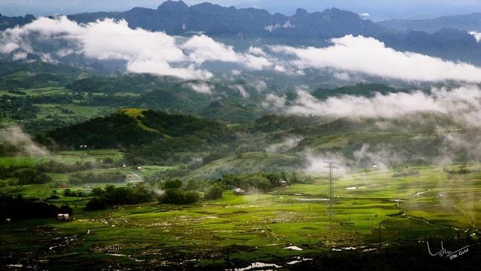 Mai Châu bồng bềnh mây trắng
