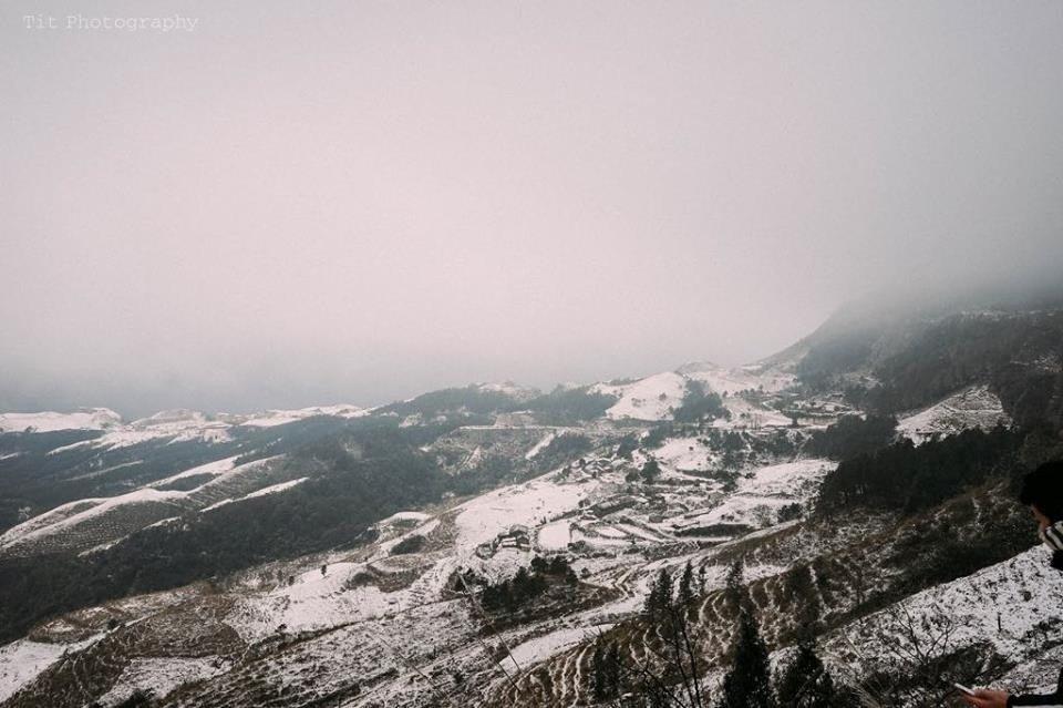 Tuyết phủ ở Mẫu Sơn