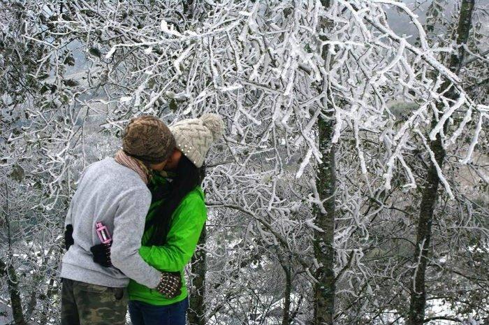 Tuyết trắng những ngày cuối năm
