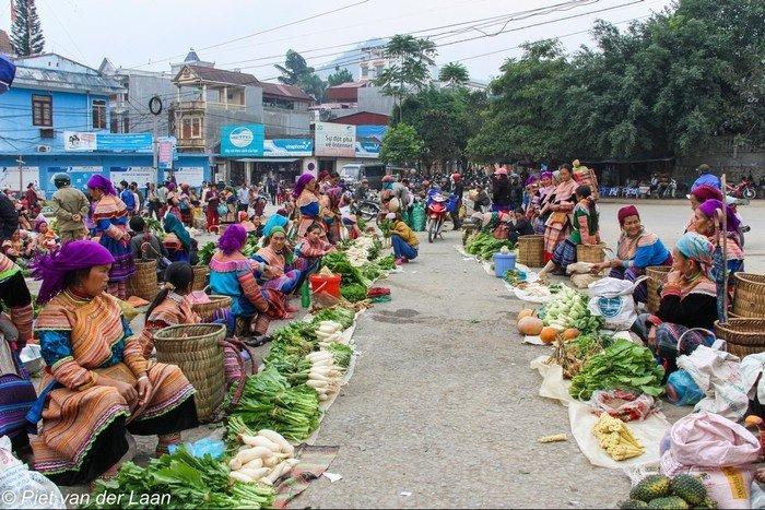 Không khí của phiên chợ vùng cao Lào Cai
