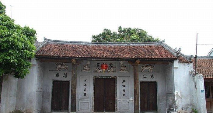 Những gian nhà cổ đậm nét phong cách kiến trúc truyền thống