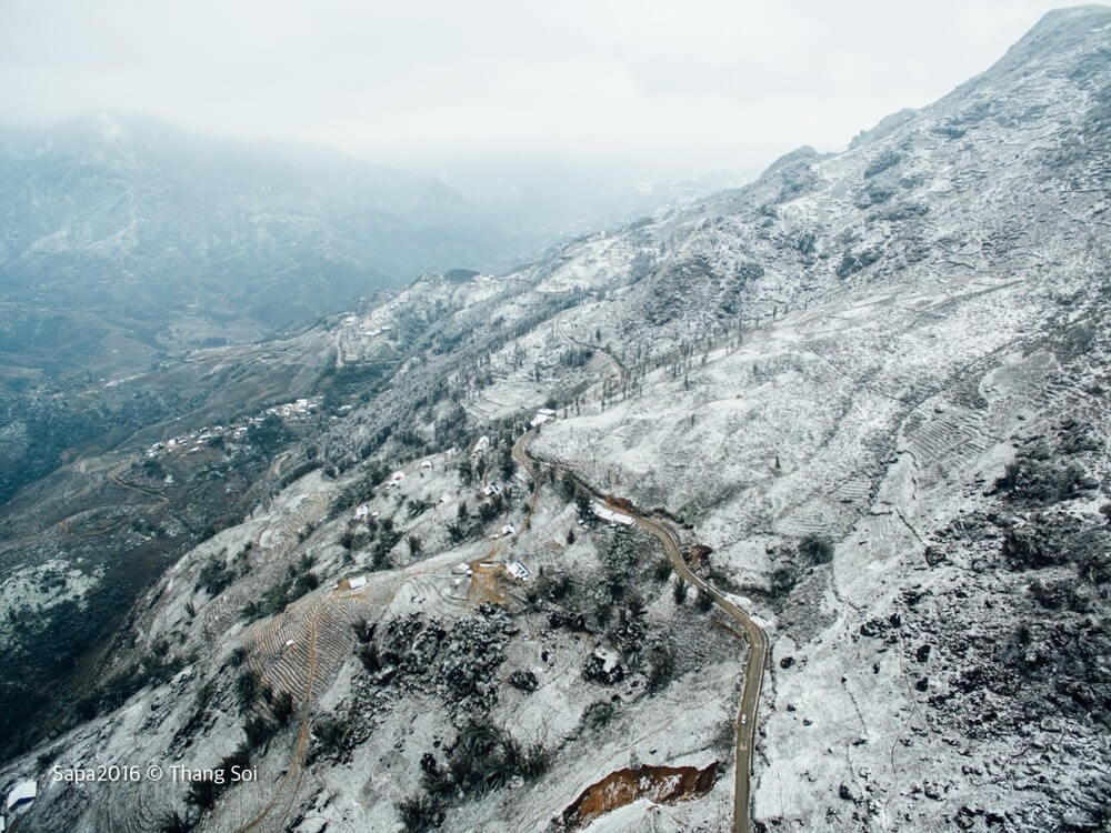 Tuyết trắng Sa Pa huyền ảo
