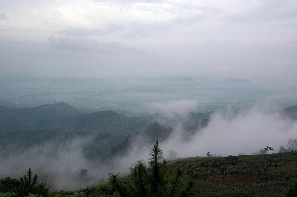 Mây trắng bồng bềnh ở Suối Giàng tựa chốn bồng lai tiên cảnh
