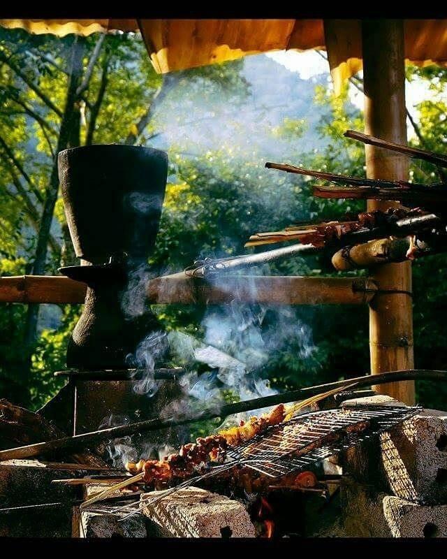 Một sáng an yên bên bếp lửa Mộc Châu