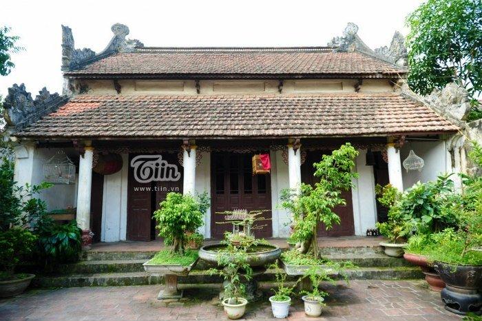 Một ngôi nhà cổ của dòng họ Nghiêm Xuân Tây Mỗ