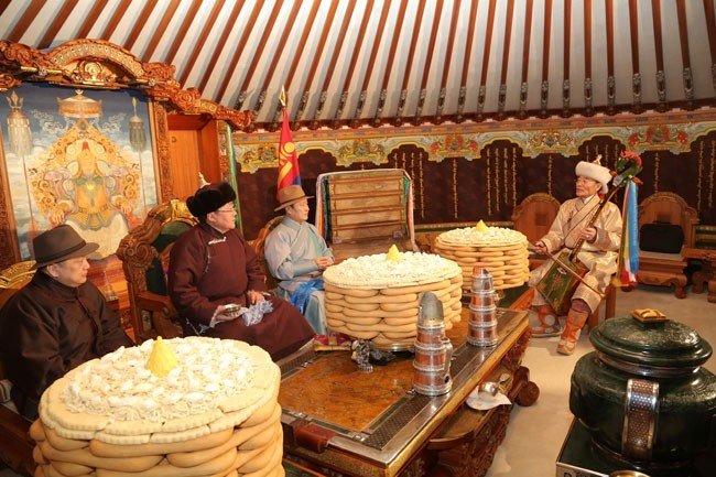 Tết của người Mông Cổ