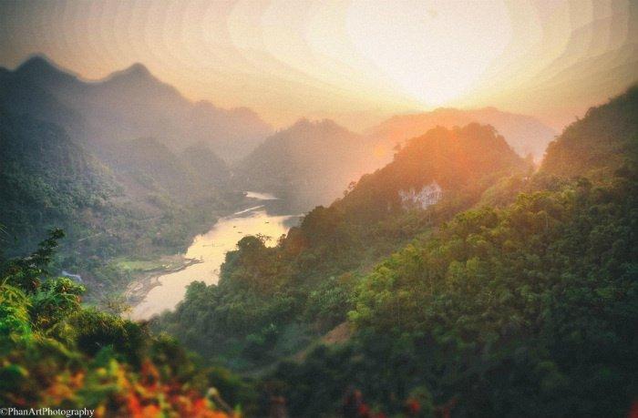 Một góc Thung Nai ảo diệu, nên thơ và hùng vĩ