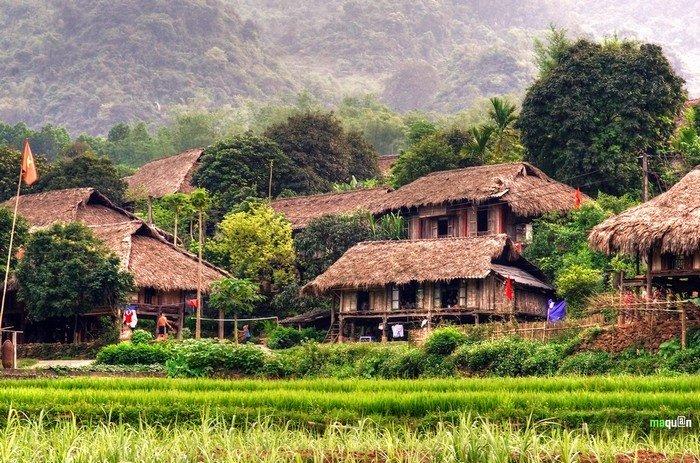 Những bản làng mộc mạc, bình yên ở đất Thung Nai