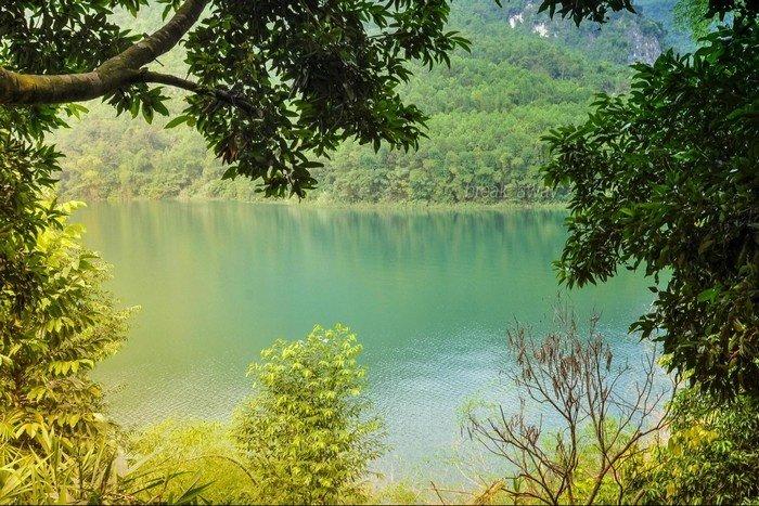 Cảnh sắc đẹp mê hồn ở Thung Nai - Hòa Bình