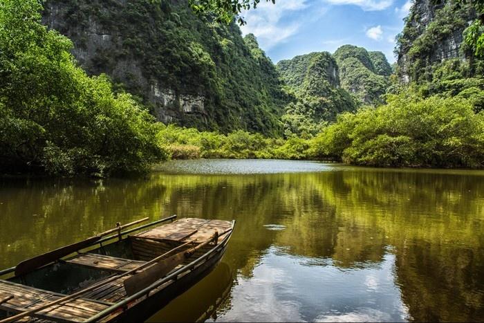 Khung cảnh sông nước Tràng An yên bình nao lòng