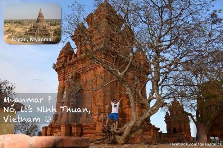 Myanmar đây ư? Không, là Ninh Thuận!