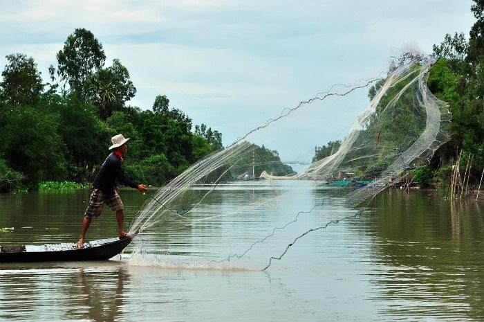 Vùng sông nước mênh mông