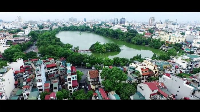 Hồ Gươm - hơi thở của Hà Nội