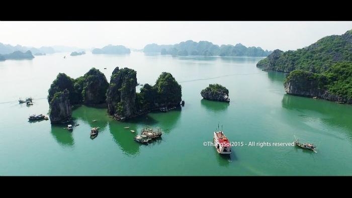 Rồng Việt Nam khi nhìn từ trên cao