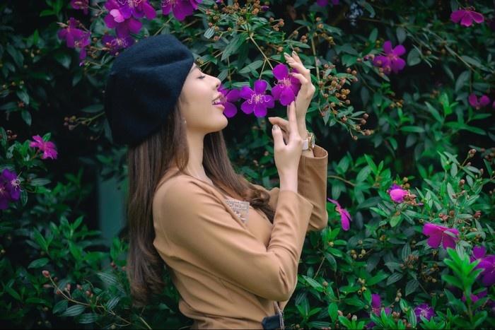 Rồi ngập ngừng trong những sắc màu hoa Đà Lạt