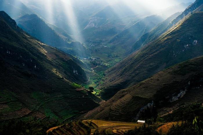 Cảnh đẹp Hà Giang nhìn từ trên cao
