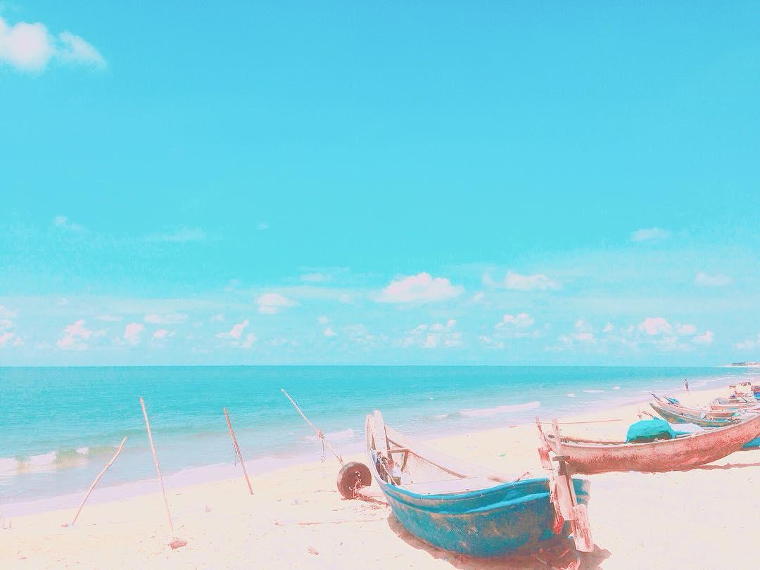 Nhưng ở Hồ Tràm ta cảm nhận rõ được sắc màu hoang dại của tự nhiên - Ảnh: Huyenanhtruong97