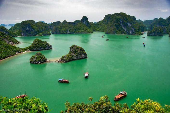 Tạp chí National Geographic bình chọn Vịnh Hạ Long làm điểm hấp dẫn nhất mùa Valentine