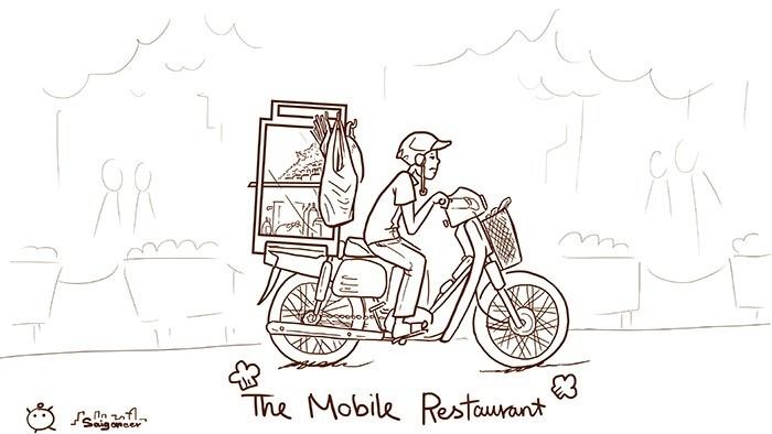 The Mobile Restaurant