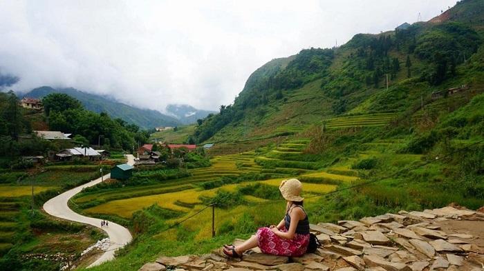 Du lịch Sapa tháng 8 ngắm lúa trổ đòng