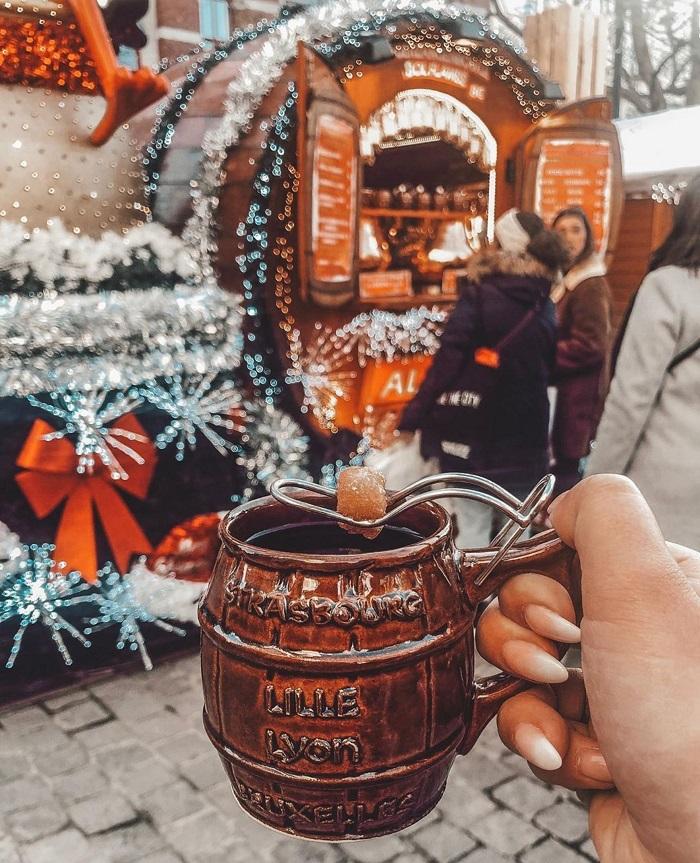 RượuGluhwein - thức uống đặc biệt mang hương vị Giáng sinh Châu Âu