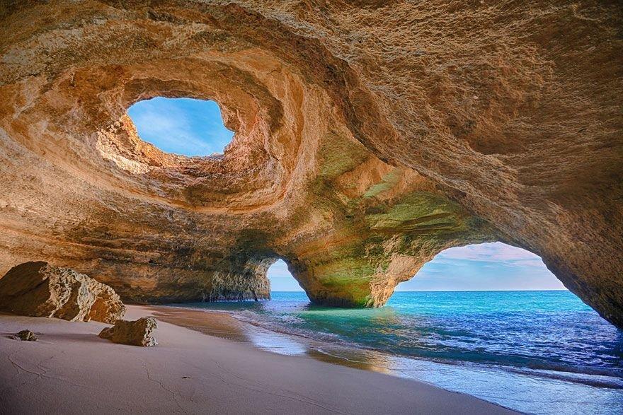 Hang động ở Algarve