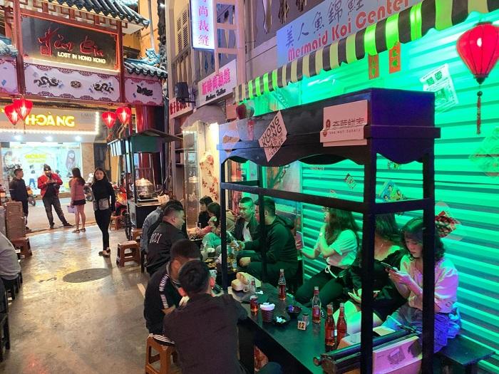 hẻm bia lost in Hongkong Hà Nội