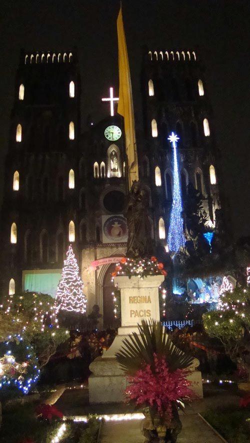 Đi đâu chơi Noel ở Hà Nội?