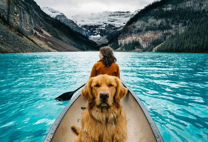 hồ Louise Canada