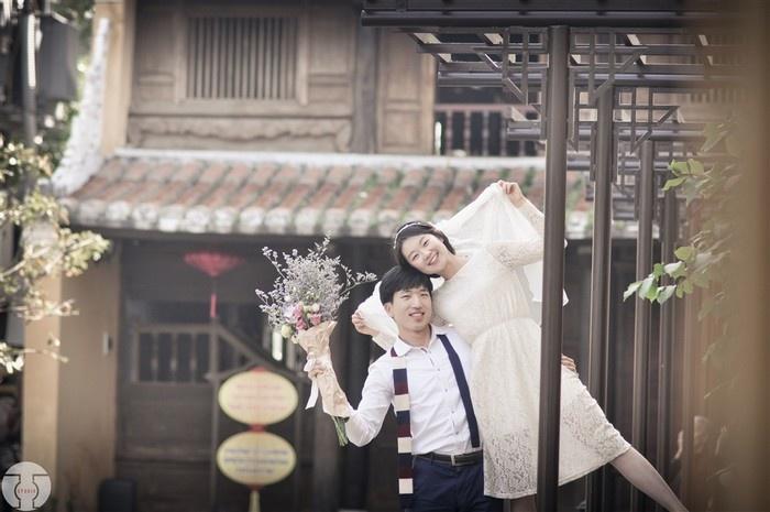Cặp đôi dễ thương Shim và Kang