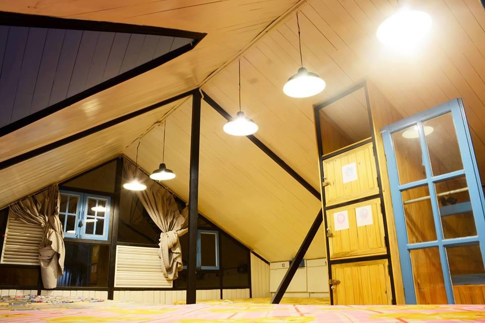 Gác mái xinh xinh - Ảnh: Tigon Dalat Hostel