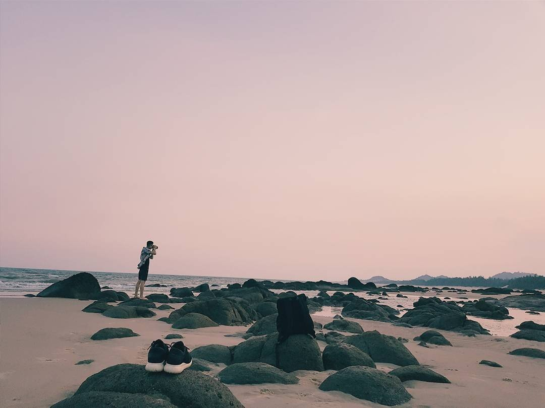 Từ đây có thể đến được những bãi biển đẹp như mơ