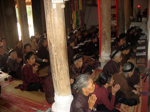 Lễ chùa Văn Quán