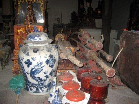 di tích - chùa Văn Quán
