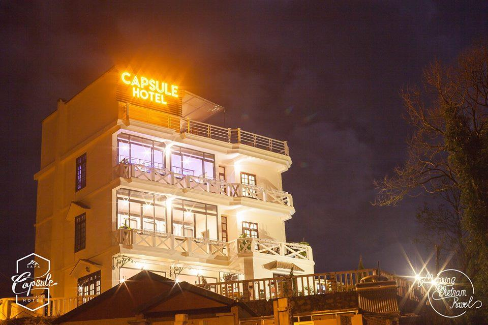 Khách sạn Sapa Capsule - Ảnh: sưu tầm