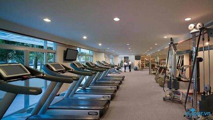Phòng thể dục hiện đại
