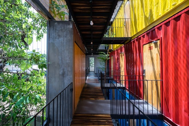 Ccasa Hostel là khách sạn container đầu tiên của Nha Trang vừa được tạp chí kiến trúc nổi tiếng Archdaily giới thiệu.