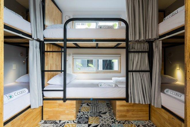 Khách sạn có phòng 6 giường (dạng giường tầng) với giá ngày thường là 155.000 đồng một người. Phòng giường tầng có sức chứa 4 người, giá là 175.000 đồng/người.