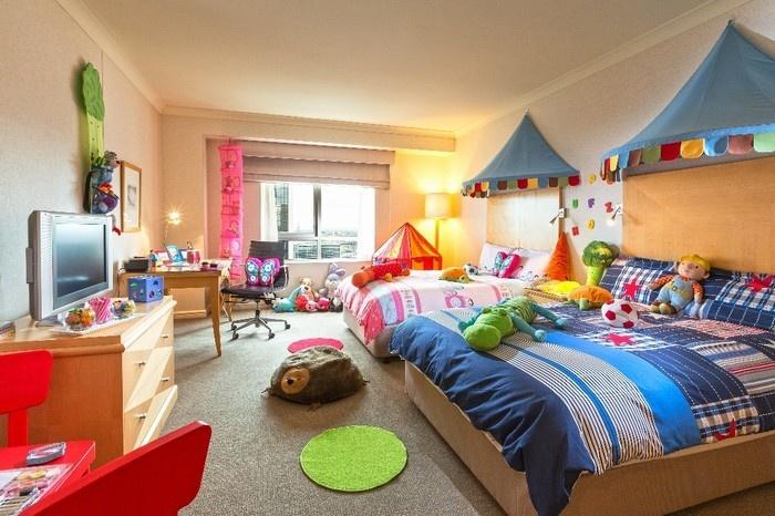 Miền cổ tích trong căn phòng khách sạn dành cho trẻ