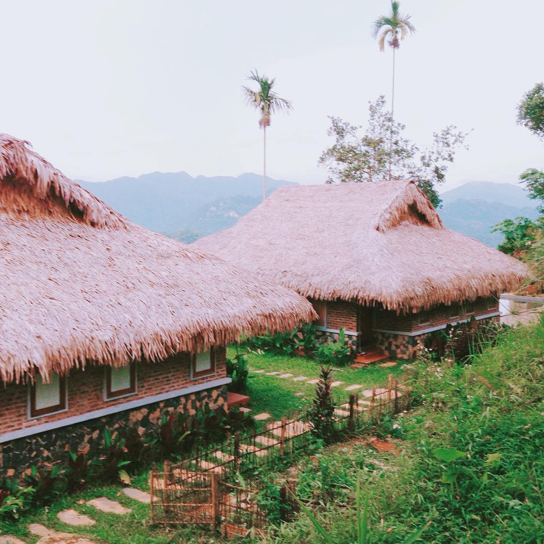 Nhưng Puluong Retreat lại được vẽ nên bởi những gam màu đặc trưng đất Bắc - Ảnh: Linhcaaaheoo