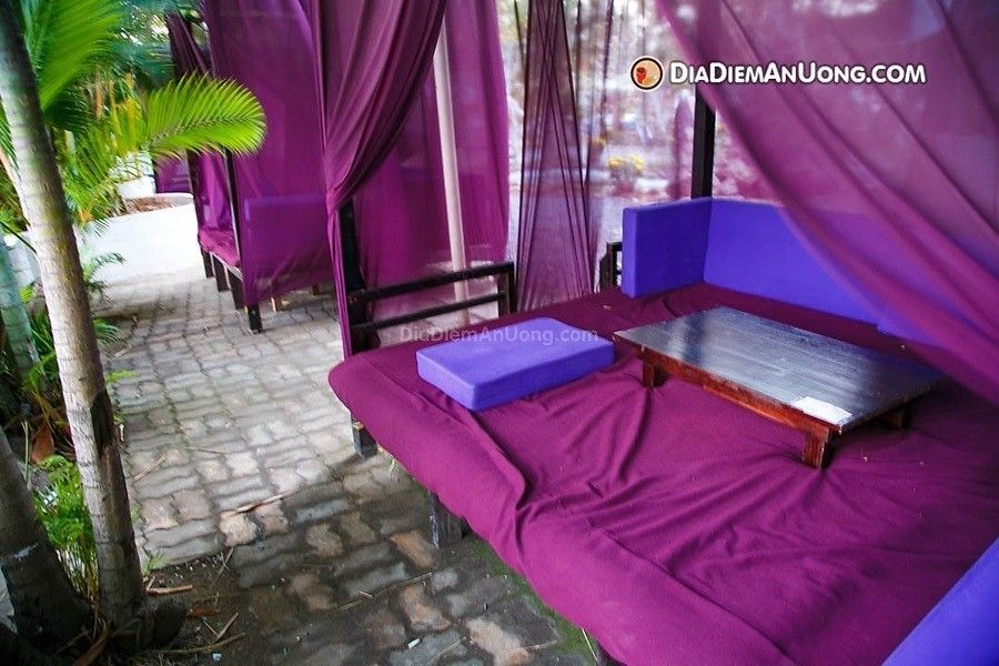 khung canh ca phe relax garden