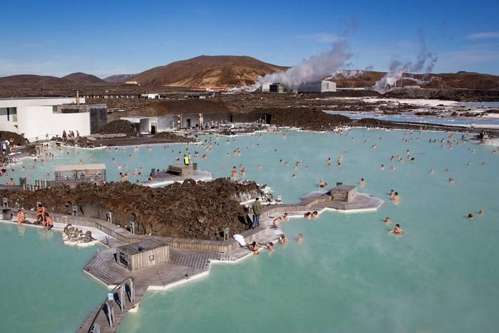 Hay ở hồ thì du khách đều có nguy cơ bị nhiễm khuẩn