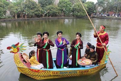 Đặc sắc hội làng Trịnh Nguyễn (Bắc Ninh)