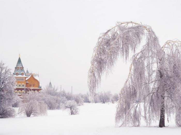 Cung điện của Tzar Alexei Mikhailovich đẹp tựa nàng công chúa ngủ vùi trong tuyết mỗi khi đông về