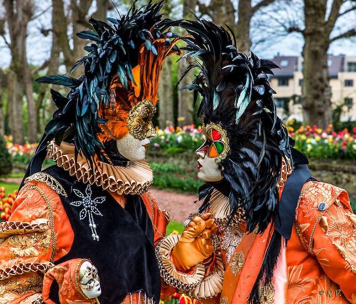 Rực rỡ sắc màu tại lễ hội hoaBrussels Bỉ