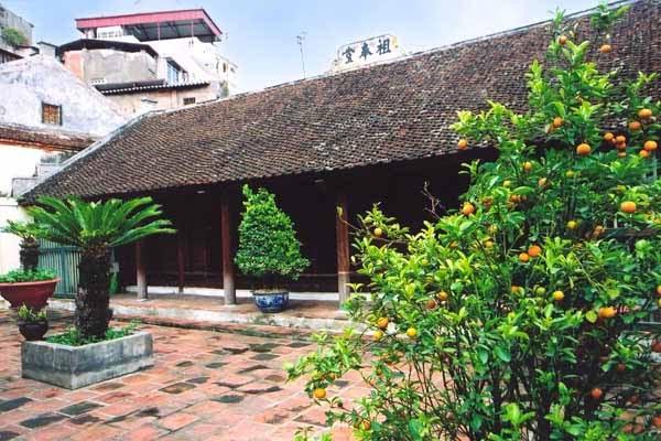 Nhà Tổ chùa Hương Tuyết Hà Nội