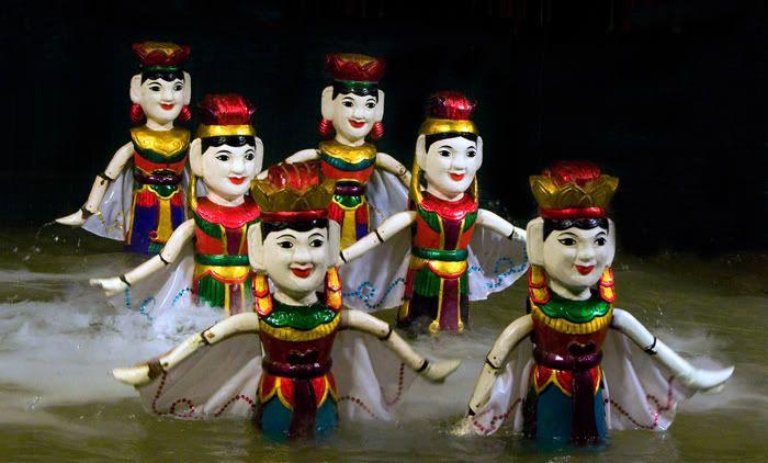 Múa rối nước - nghệ thuật truyền thống độc đáo